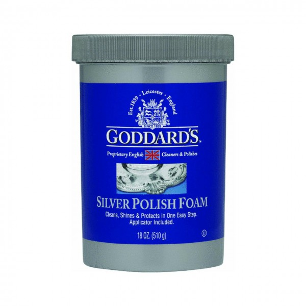 1 x 18 oz Silver Polish Foam