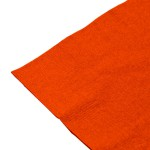 Serviettes orange, 2 plis, 33 cm - paquet de 100 serviettes